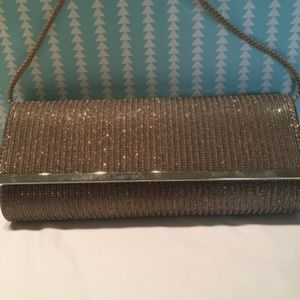 Charming Charlie Sparkle Clutch | EUC | $15